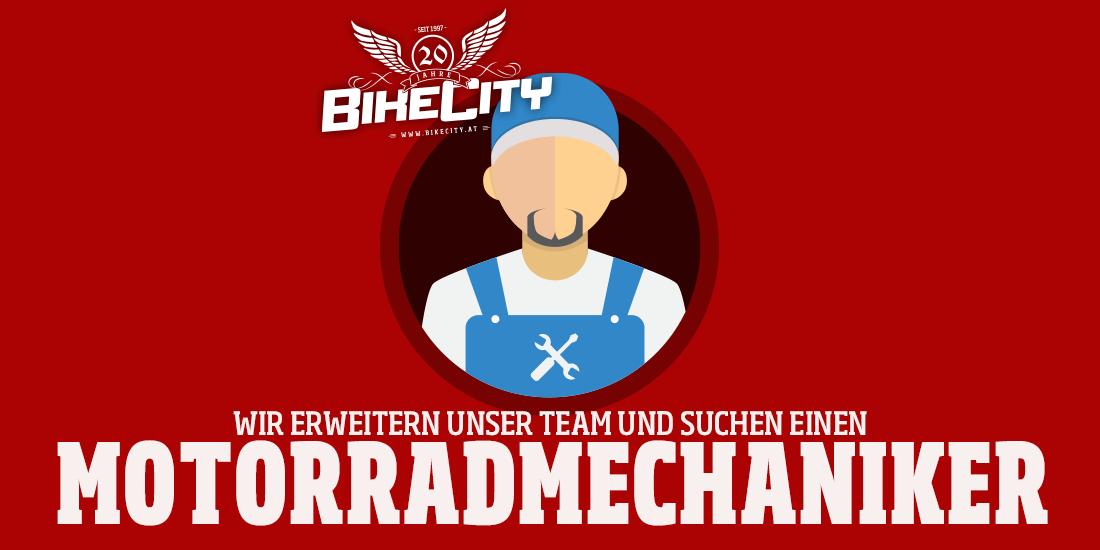 Motorradmechaniker gesucht! – BikeCity – Zweirad ...